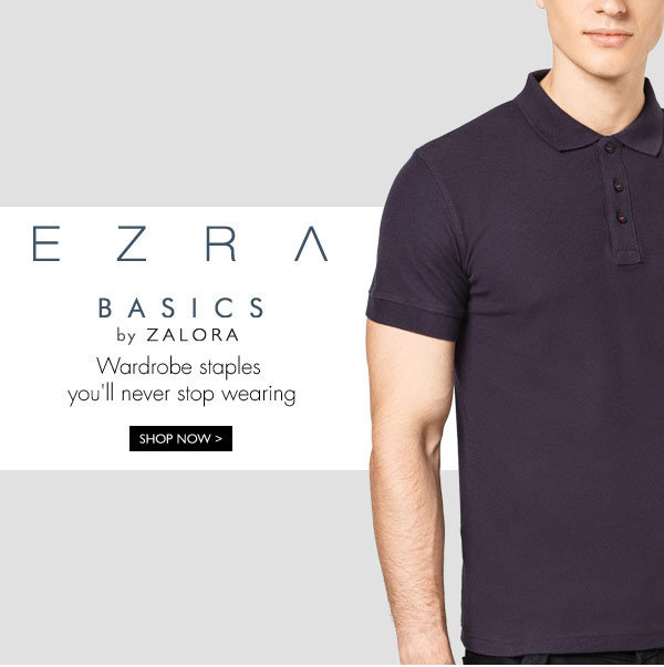 Shop EZRA BASICS by ZALORA