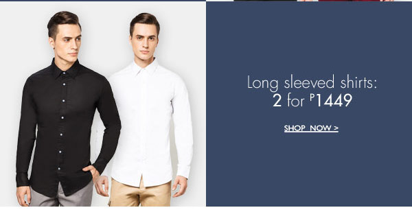 Shop Long Sleeves Shirts