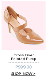 Cross Over Pointed Pump