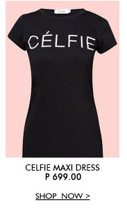 Celfie Maxi Dress