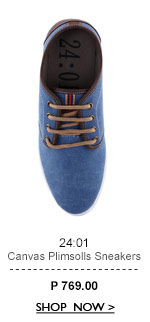Canvas Plimsolls Sneakers