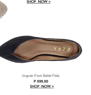 Angular Front Ballet Flats