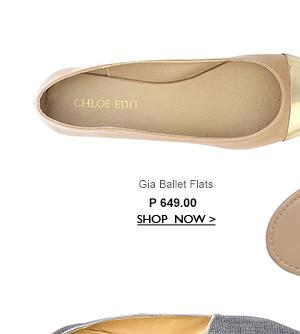 Gia Ballet Flats