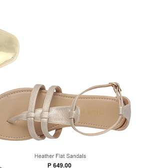 Heather Flat Sandals