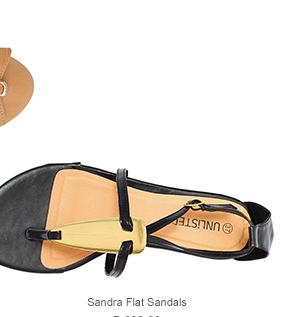 Sandra Flat Sandals