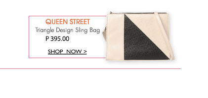 Triangle Design Sling Bag