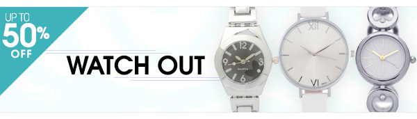 Shop Watches Up to 50% OFF