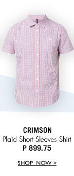Plaid Short Sleeves Shirt