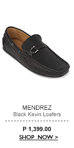 Black Kevin Loafers