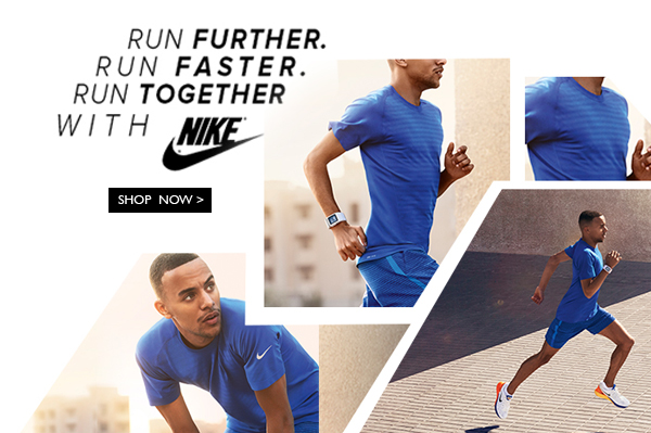 Run Faster & Further with Nike