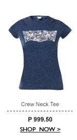 Crew Neck Tee