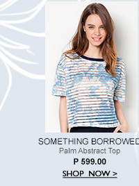 Palm Abstract Top