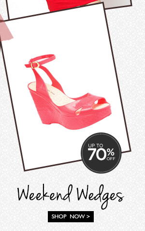 Shop Wedges Up to 70% OFF