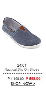 Nautical Slip On Shoes