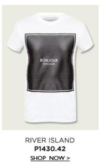 White Bonjour T-Shirt