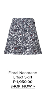 Floral Effect Skirt