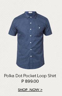 Polka Dot Loop Shirt