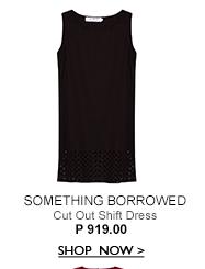 Cut Out Shift Dress
