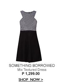 Mix Textured Dress