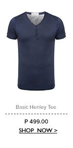 Basic Henley Tee