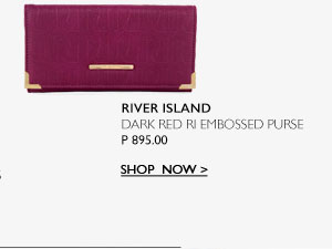 Dark Red Purse
