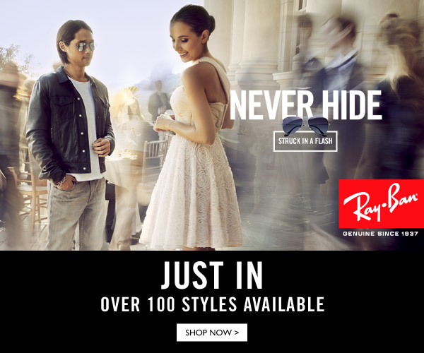 Just In: Ray-Ban now on ZALORA