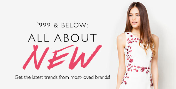 P 999 & Below: All About New