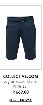 Men's Shorts with Belt
