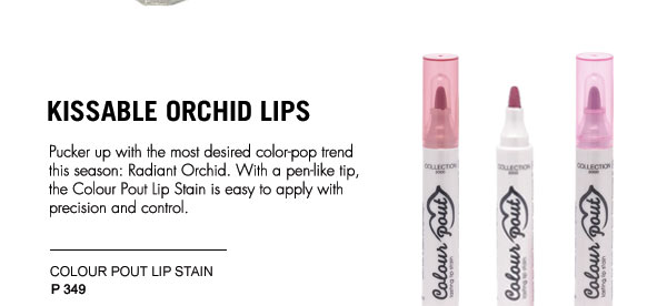 Kissable Orchid Lips