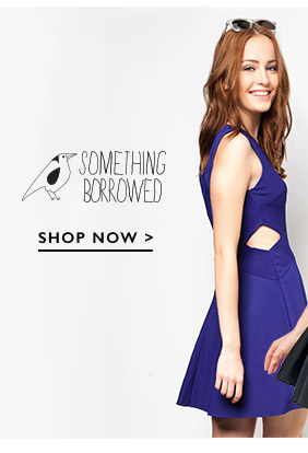 Shop Something Borrowed