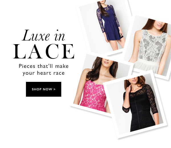 Luxe in Lace