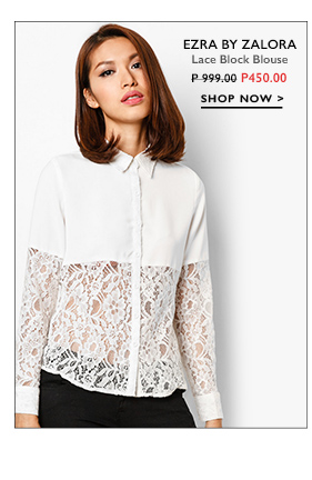 Lace Block Blouse