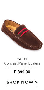 Panel Loafers