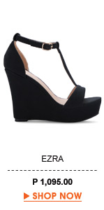 T- Strap Wedge