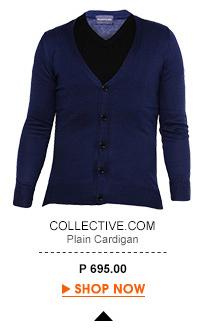 Plain Cardigan