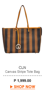 Canvas Stripe Tote