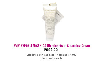 Hypollergenics Illuminants + Cleansing Cream