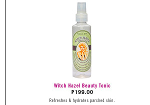 Witch Hazel Beauty Tonic