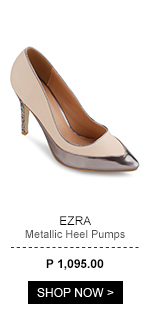 Metallic Heel Pumps