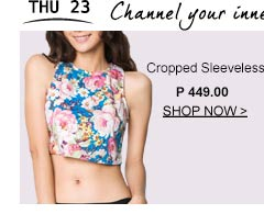 Cropped S	leeveless