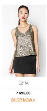 Sequined Sleeveless Top