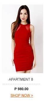Alexia Mesh Racerback Dress
