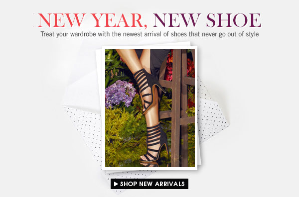 Shop Your Newest Shoes!