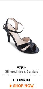 Glittered Heels Sandals